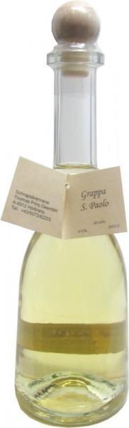 Grappa S.Paolo 0,5l in Rustikaflasche - Abfüller Prinz
