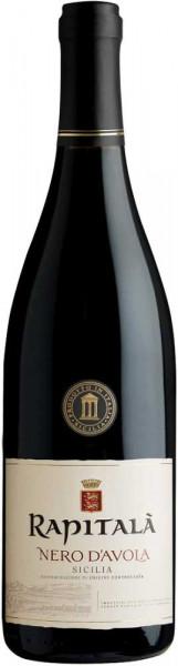Rapitala Nero d'Avola 0,75l - italienischer Rotwein