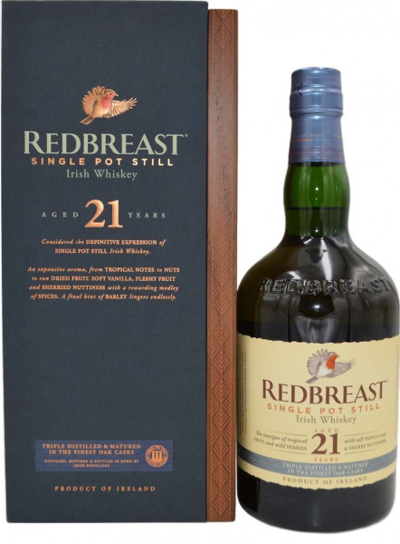 Redbreast 21 Jahre Single Pot Still