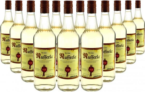 12 Flaschen Prinz Nusserla (Nussschnaps mit echtem Nussdestillat) 1,0l aus Hörbranz in Österreich
