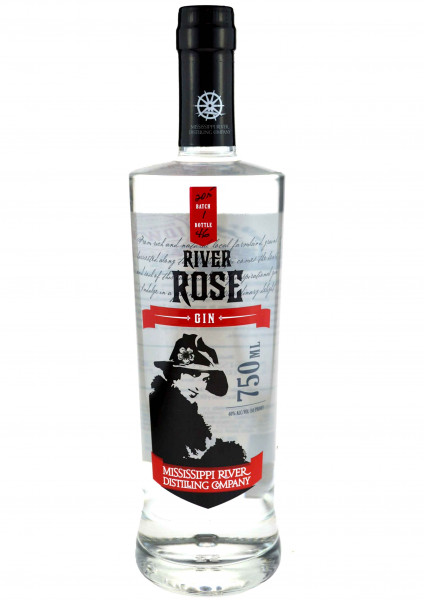 River Rose Gin 0,7l - Mississippi River Distilling Company
