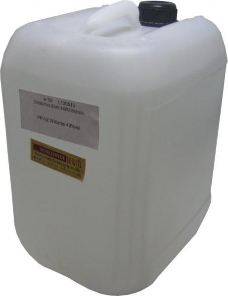 Prinz Williams-Christ-Birnen-Schnaps 10 Liter Kanister Spirituose aus Österreich