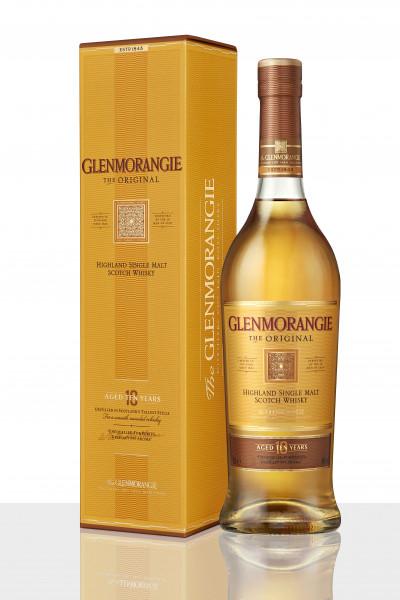 Glenmorangie Highland Single Malt Scotch Whisky 10 Jahre The Original 0,7l - neue Ausstattung incl.