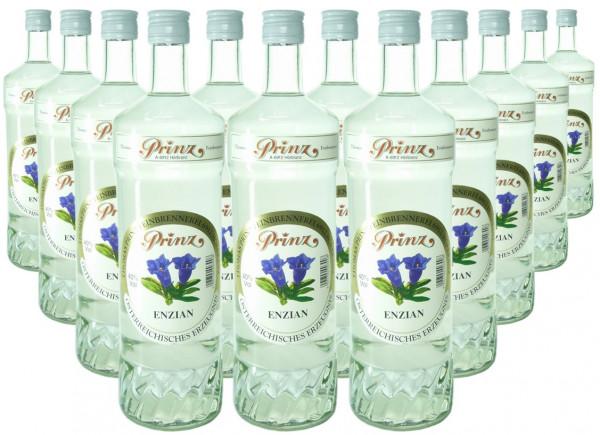 12 Flaschen Prinz Enzian 1,0l aus Österreich