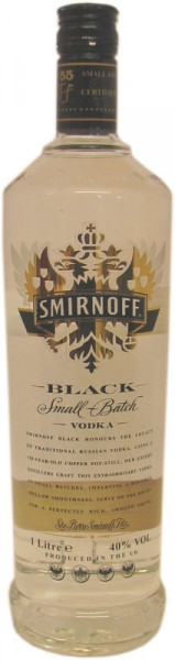 Smirnoff Vodka Black