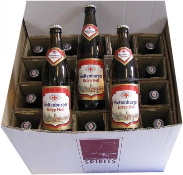 Weltenburger Urtyp Hell Bier 20x0,5l