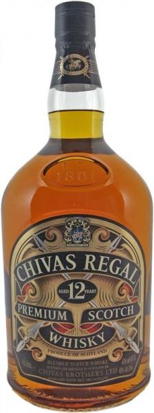 Chivas Regal Blended Scotch Whisky 12 Jahre 4,5l ohne Schwenker Grossflasche