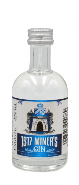 1517 Miner's Gin Miniatur