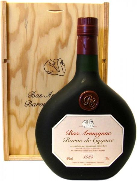 Armagnac Baron de Cygnac Jahrgang 1984
