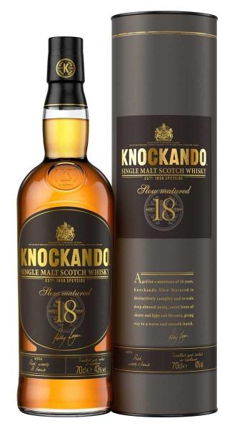 Knockando Whisky 18 Jahre 0,7l - Jahrgang 2001