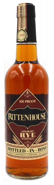 Rittenhouse Straight Rye Whisky 100 Proof 0,7l - Roggenwhiskey aus Amerika