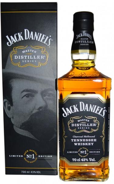 Rarität: Jack Daniel's Master Distiller No 1 Limitierte Edition mit Geschenkkarton 0,7l - Tennessee