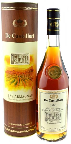 Armagnac De Castelfort Jahrgang 1966 inklusive Geschenkdose