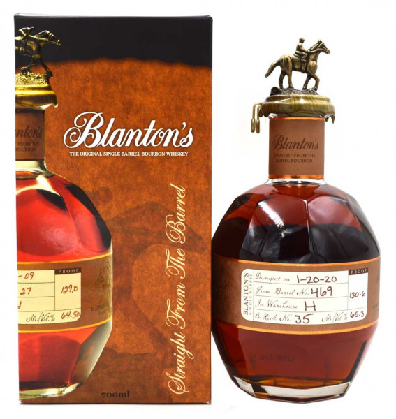 Blanton's Straight from the Barrel Whiskey 0,7l