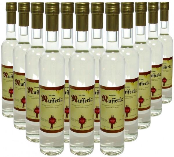 18 Flaschen Prinz Nusserla 0,5l - Nussschnaps von der Feinbrennerei Prinz aus Österreich - 3,8% Raba