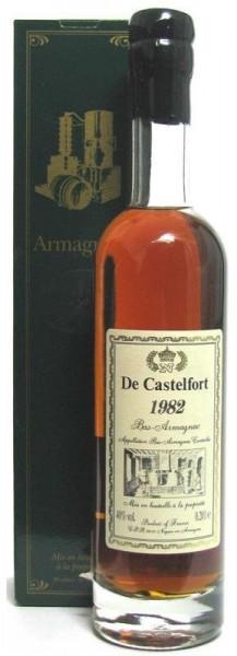 Armagnac De Castelfort Jahrgang 1982 abgefüllt im Jahr 2013/2015 - 31/33 Jahre im Fass gelagert