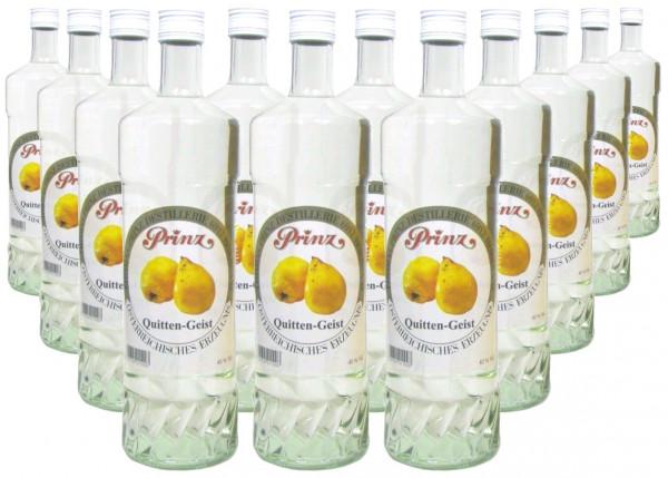 36 Flaschen Prinz Quitten-Geist 1,0l Spirituose aus Österreich