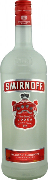 Smirnoff Vodka No.65 Spiced Pepper