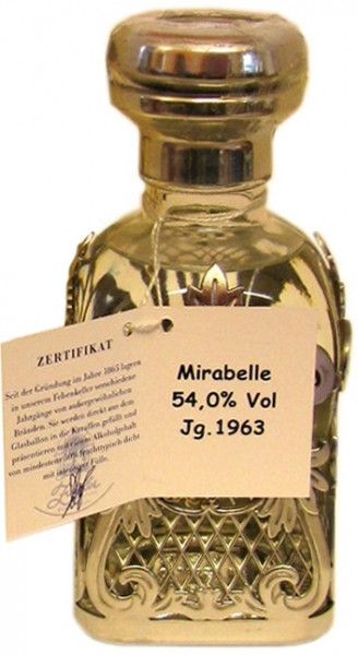Ziegler Mirabelle Edelbrand Jahrgang 1963