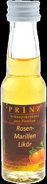 Prinz Rosen-Marillenlikör 0,02l Miniatur - Likör aus Österreich