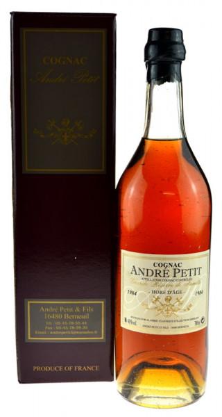 Andre Petit Jahrgang 1984 Hors D'Age Cognac