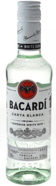 Bacardi Rum 0,35l - 37,5%vol. - weißer Rum