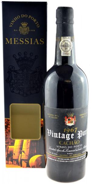 Rarität: Port Messias Vintage (Jahrgang) 1967 - 0,75l inkl. Geschenkpackung - Portwein