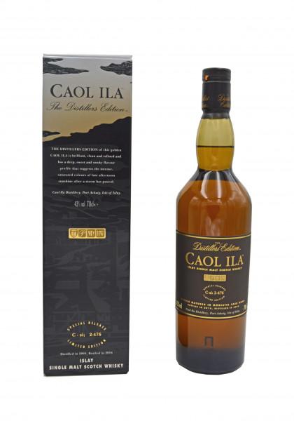 Caol Ila Whisky Distillers Edition 2004/2016