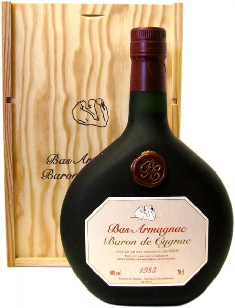 Armagnac Baron de Cygnac Jahrgang 1983