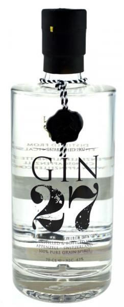 Gin 27 Premium Appenzeller Dry Gin
