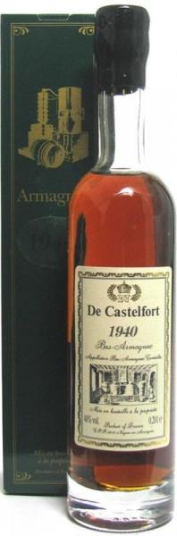 Armagnac De Castelfort Jahrgang 1940