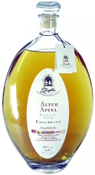 Ziegler XXL Alter Apfel Jahrgang 2003 Grossflasche Obstbrand