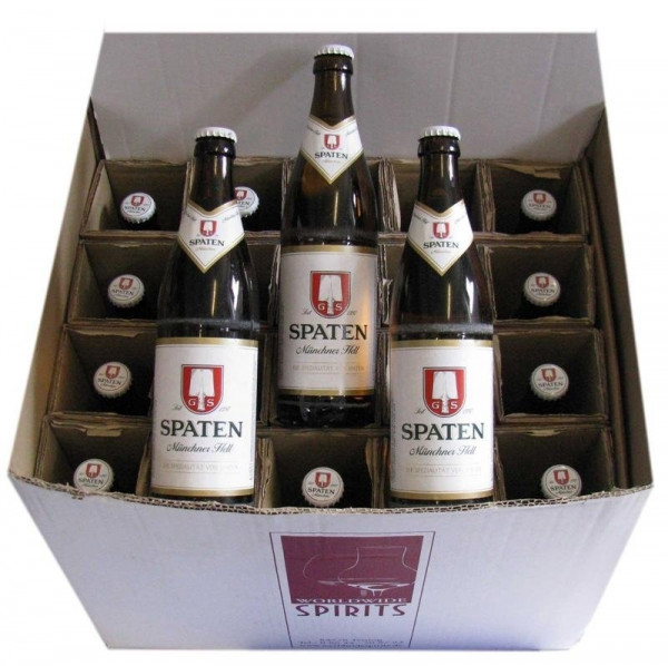 Spaten Münchner Hell Bier 20x0,5l