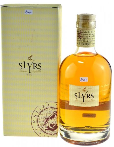 Slyrs Bayerischer Single Malt Whisky 0,7l - Jahrgang 2004 incl. Geschenkkarton