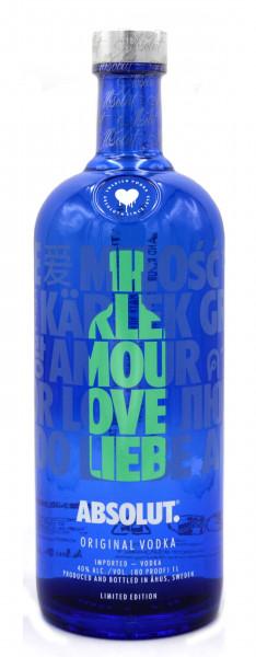 Absolut Vodka Love Edition Mint