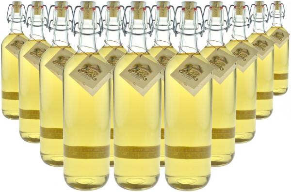 12 Flaschen Prinz Alte Haselnuss (Schnaps) 1,0l - im Holzfass gereift aus Österreich