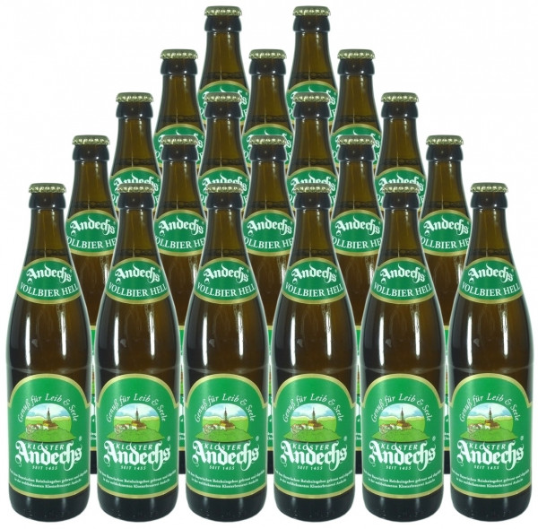 Andechser Hell Bier 20x0,5l