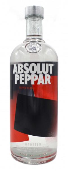 Absolut Peppar 1,0l - Wodka mit Pfeffer-Aromen