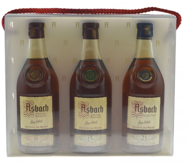 Asbach Cellarmaster's Collection 3x0,2l