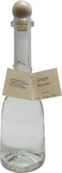 Grappa Moscato 0,5l in Rustikaflasche - Abfüller Prinz