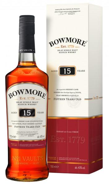 Bowmore Darkest 15 Jahre