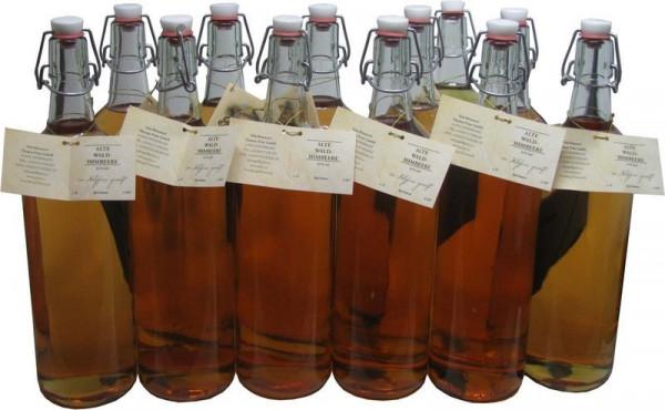 12 Flaschen Prinz Alte Waldhimbeere 1,0l - im Holzfass gereift aus Österreich