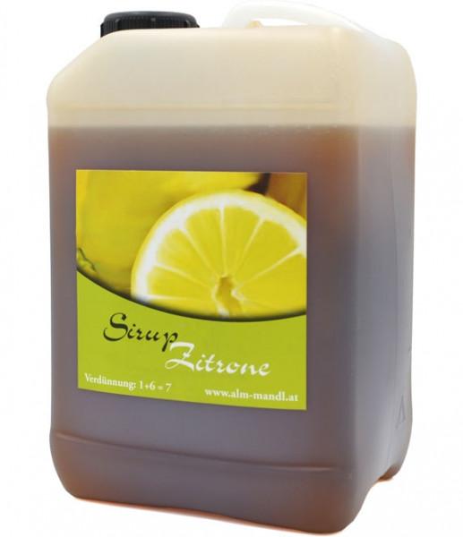 Alm Mand'l Zitronade (Zitronen) Sirup Kanister