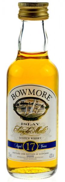 Bowmore Whisky 17 Jahre 0,05l Miniatur ohne Geschenkdose