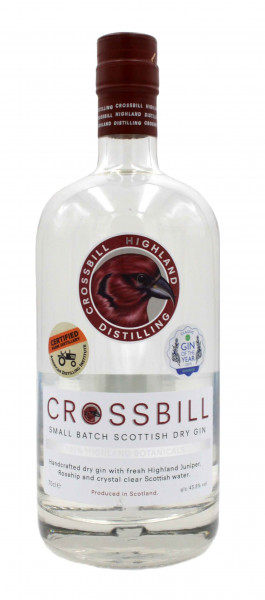 Crossbill Small Batch Scottish Dry Gin