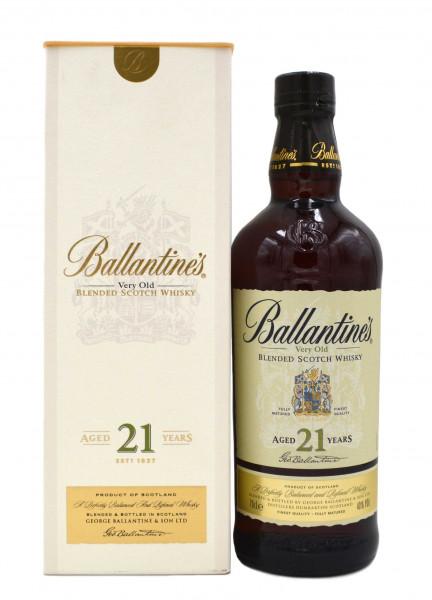 Ballantines Very Old 21 Jahre 0,7l mit Geschenkpackung - Schottischer Blended Whisky