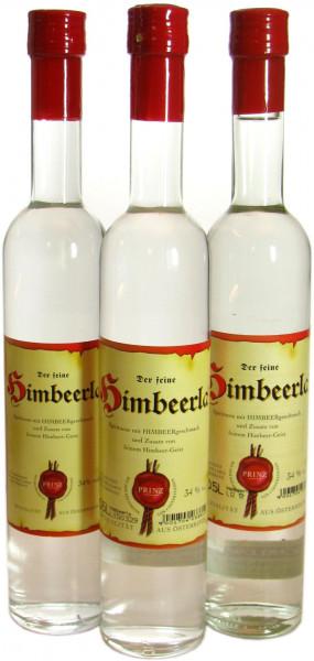 3 Flaschen Prinz Himbeerla 0,5l - Himbeergeist aus Hörbranz in Österreich