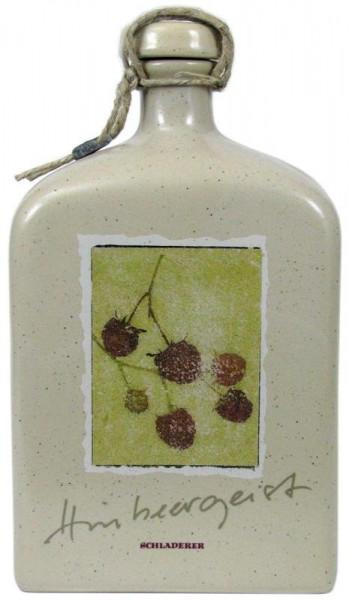 Schladerer Himbeergeist Keramikflasche 0,5l