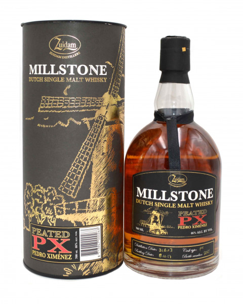 Zuidam Millstone Peated PX Cask 2013-2017