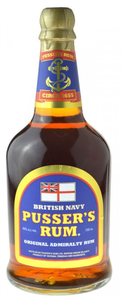 Pusser's Rum British Navy